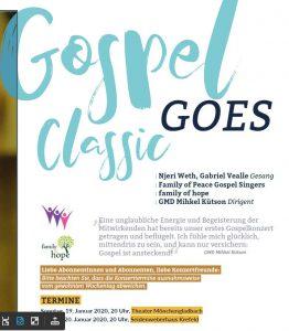 1. Chorkonzert - Gospel goes classic @ Theater Mönchengladbach | Mönchengladbach | Nordrhein-Westfalen | Deutschland