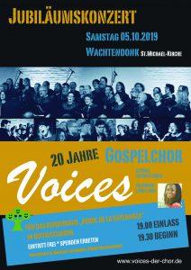 Jubiläumskonzert, 20 Jahre Voices @ Michaelkirche, Wachtendonk   Wachtendonk   Nordrhein-Westfalen   Deutschland